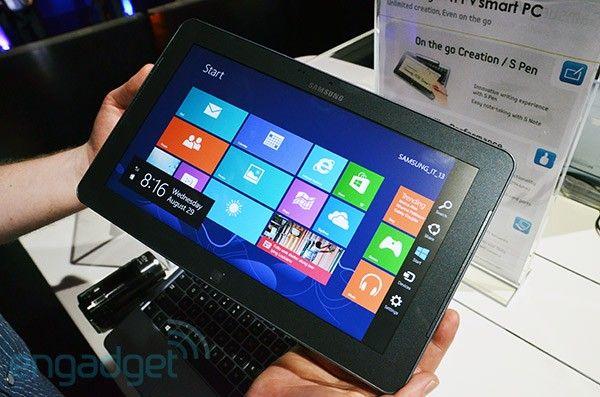 Samsung presenta una nova línia de productes amb Windows 8