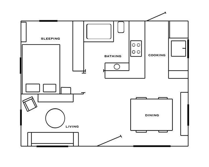 The 11 Best 500 Sq Ft Apartment Floor Plan