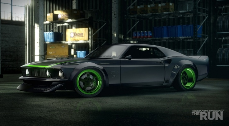 Team NFS Ford Mustang RTR-X, Need for Speed The Run