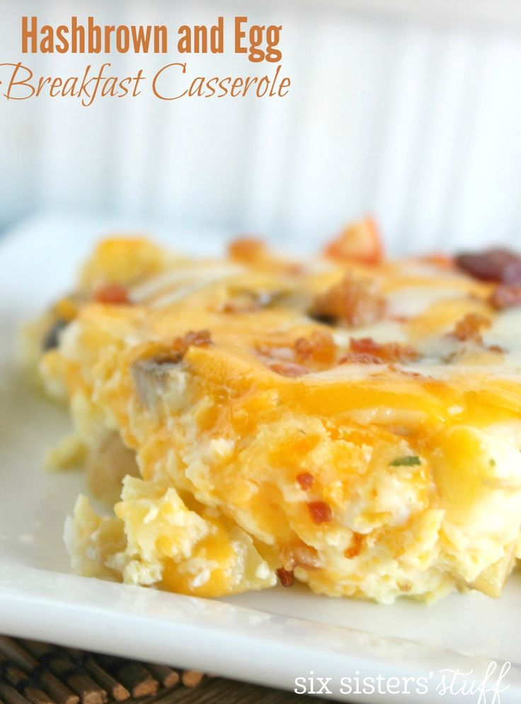 Hashbrown and Egg Casserole 6