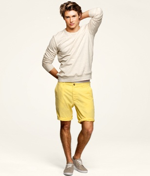 shorts and a sweater with those shoes...works for me.