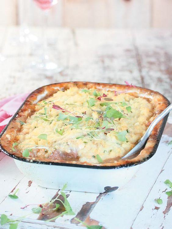 Lamb stew with feta and potatoes | Lamsbredie met fetakapokaartappels