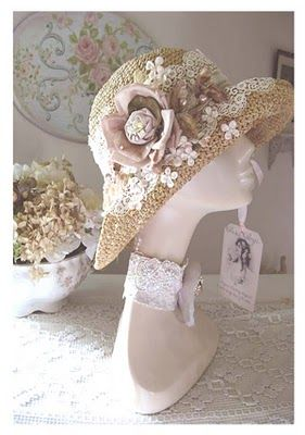 Afternoon casual tea hat or garden party