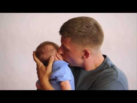 """Thanks to Dove Men+Care, 300 military families will be able to share the joy of being together this Father's Day. See just one story that shows the impact of """"Mission: Care"""". Here, John and his family are reunited after 7 months apart (and first time meeting his infant son). Tissues highly recommended. Care for What Matters this Father's Day."""