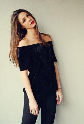 Velvet top, velvet heart <3 Badila FW15/16 // Cause we are living in a Badila world and I am a Badila girl!