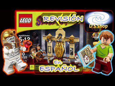 LEGO Scooby Doo Mystery Mansion Set 75904 Lego Review en Español - YouTube