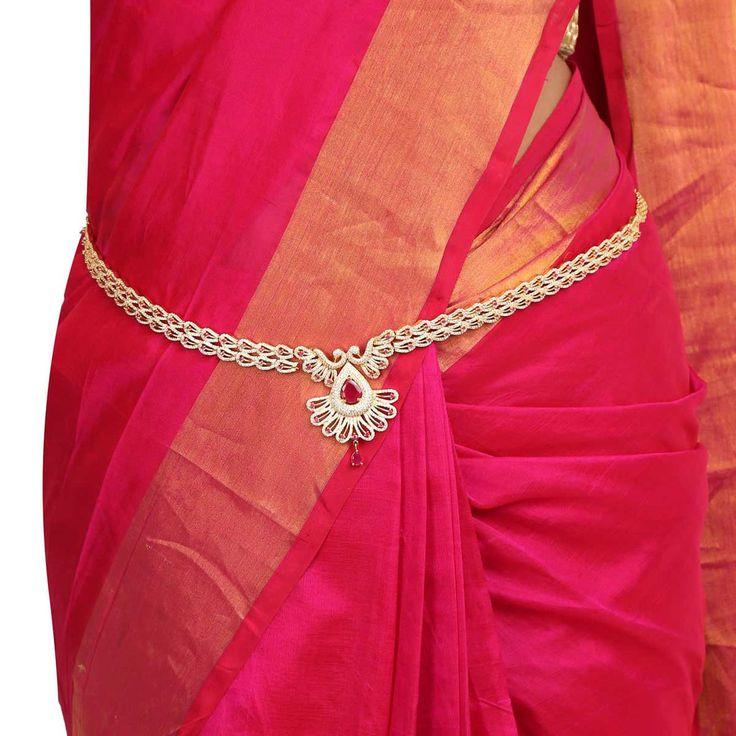Zircon Belt 56866 #Kushals #Jewellery #FashionJewellery #IndianJewellery #WeddingAccessories #Belt  #Zircon