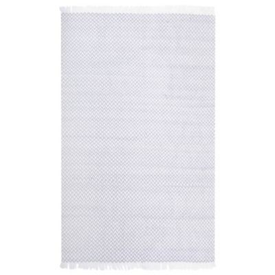 Alfombra Chennai gris/blanco 200x290 cm