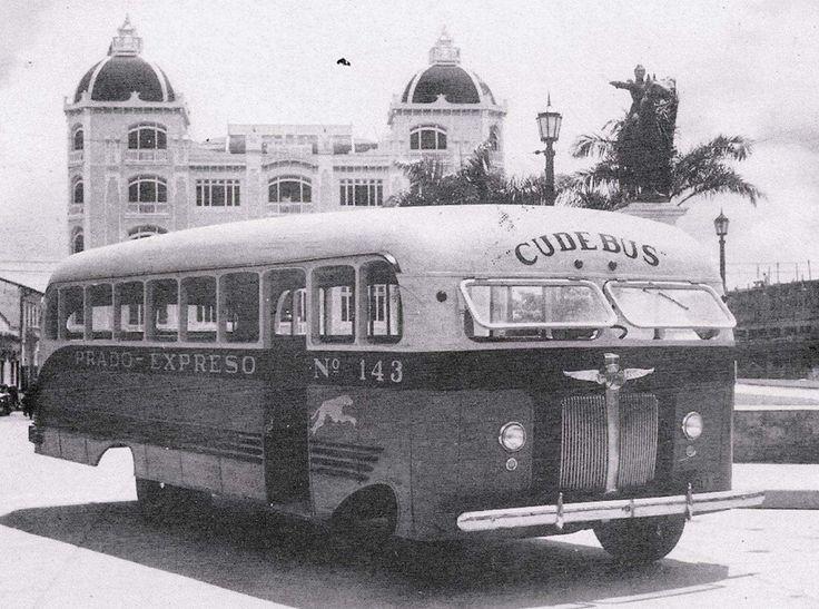 Transporte público por los años 1957
