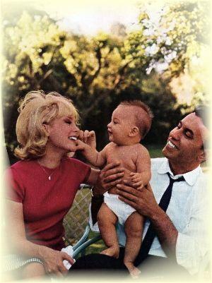 Barbara Eden and Michael Ansara ...