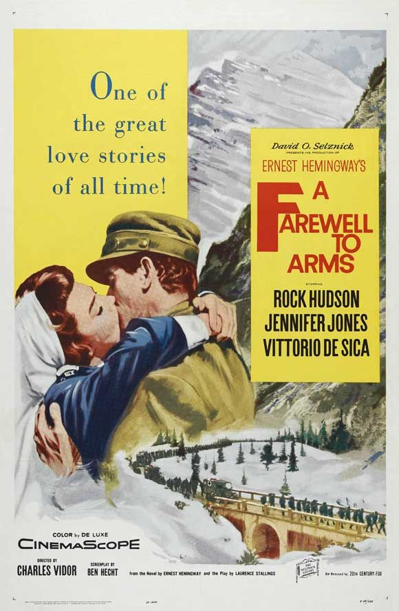 1957 movie stills | Farewell to Arms