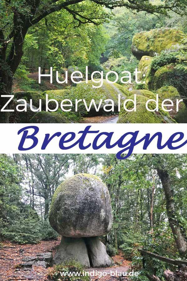 Bretagne: Feen, Zwerge und Sagen im Wald von Huelgoat