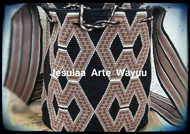 Wayuu bag geometric traditional desing
