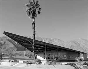 Palm Springs Tram/Gas Station.  Now the visitors center.  Great architectural lines.