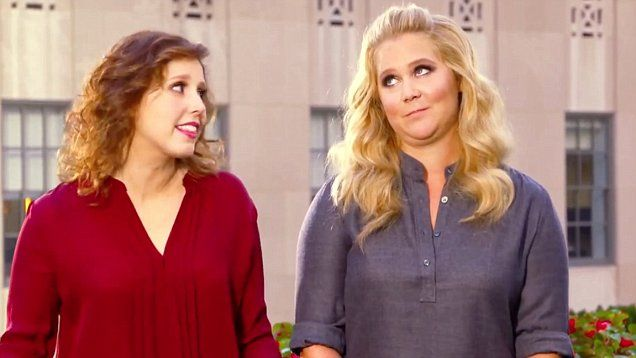Vanessa Bayer poked fun at Amy Schumer's string of success in a new Saturday Night Live promo.  Schumer will be hosting the popular late night sketch comedy show.