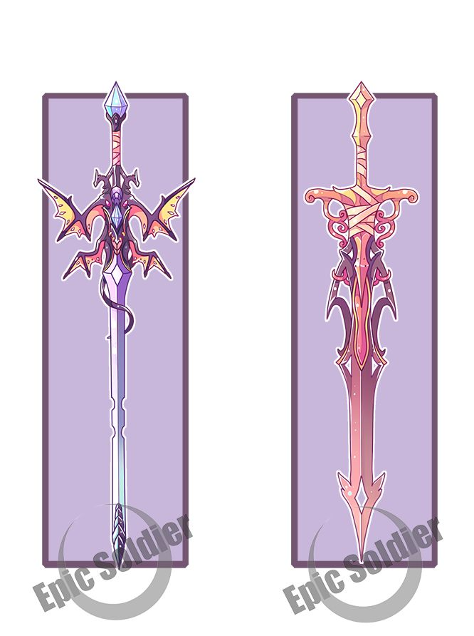Weapon adopts 3 (CLOSED) by Epic-Soldier on DeviantArt