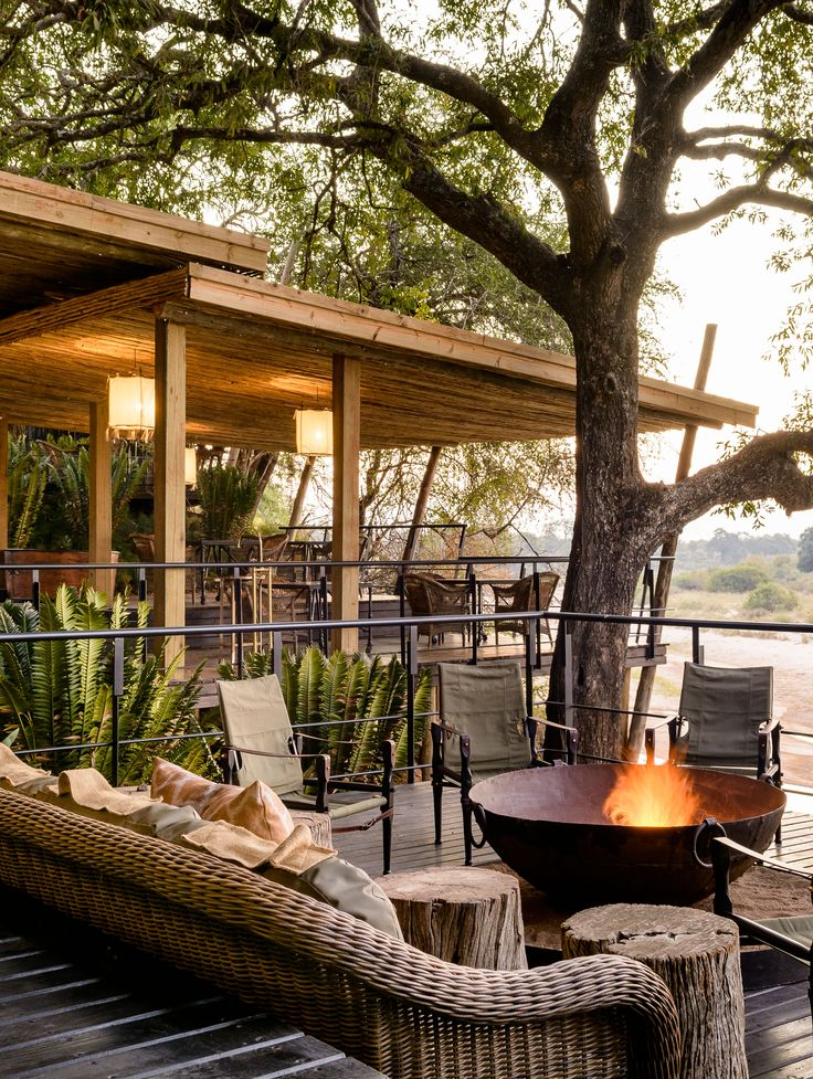 Singita Ebony lodge South Africa.