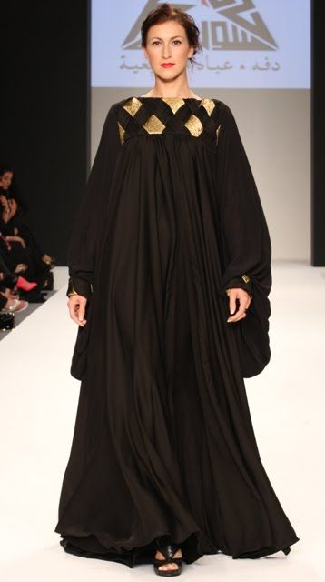 ! I love eclairs !: #Abaya #black #kaftan #arabic #arabian #khaliji #arabian