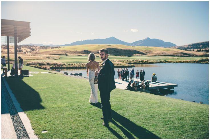 Jacks Point // Jess and Angus - Jim Pollard Queenstown wedding photographer