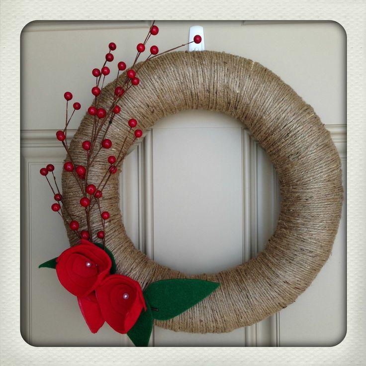 58 best navidad images on pinterest children children games and fun do it yourself holiday wreath solutioingenieria Gallery