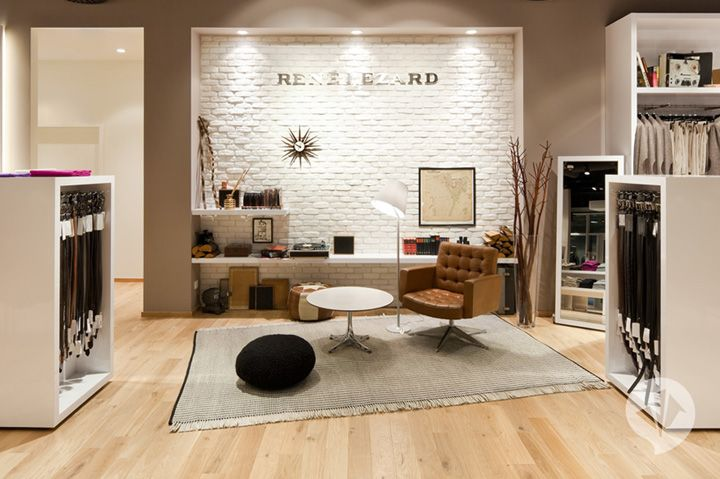 René Lezard store concept by Dan Pearlman, Zweibrücken
