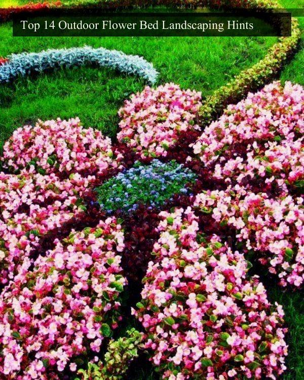 Best Outdoor Flower Bed Landscape Tricks Flower Bed Landscaping
