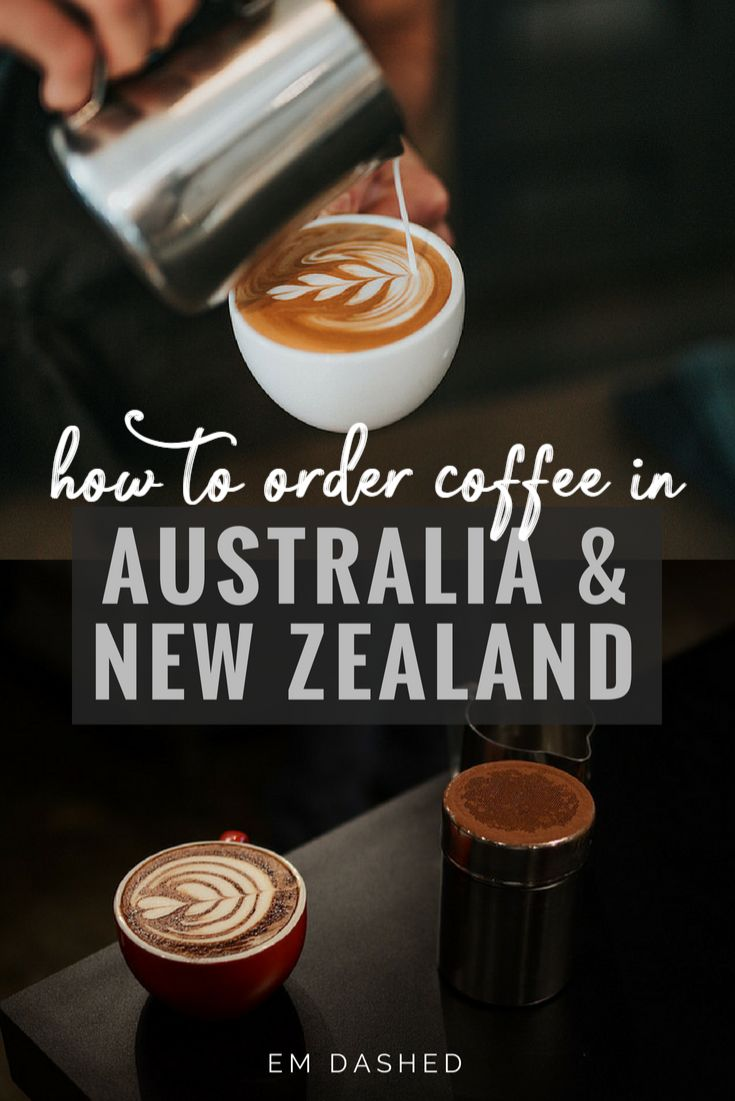 A simple guide to the different types of coffee in Australia and New Zealand, so you can order what you actually want. (Don't worry; it's not really that hard.) | #Australia #NewZealand | Photos by Tyler Nix (top) and Karl Chor (bottom)