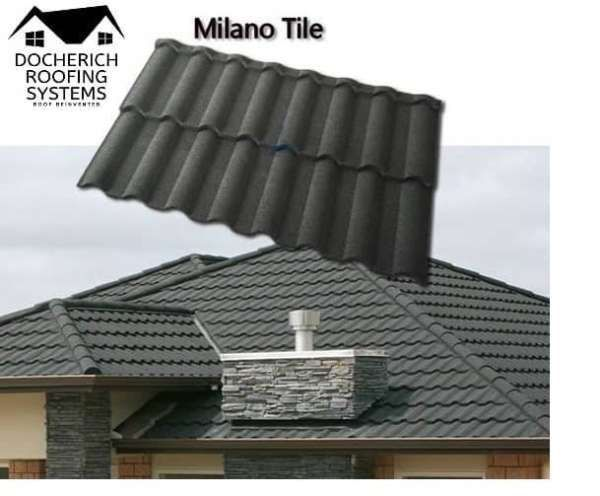 Pin On Docherich Stone Coated Roofing Sheet