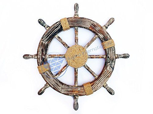 Nautical Decorative Premium Pine Wood Ship Wheel With Rop... http://www.amazon.com/dp/B01FN38L9K/ref=cm_sw_r_pi_dp_tVEoxb0JX3TP1