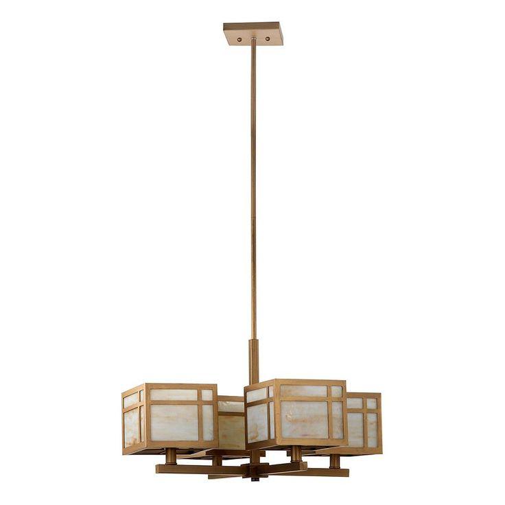 Safavieh Craftsman Chandelier, Gold
