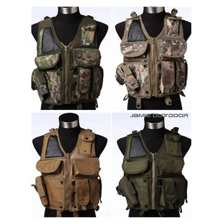 43.68$  Know more - http://aidpm.worlditems.win/all/product.php?id=32629407021 - Military tactical vest field tactical vest cs vest Hunting Military Airsoft MOLLE Nylon Combat Paintball Tactical Vest