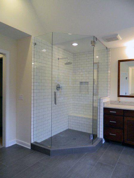 Top 60 Best Corner Shower Ideas – Bathroom Interior Designs