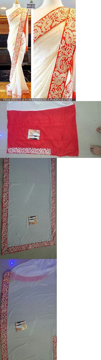 Sari Saree 155250: Saree Ethnic Indian Vintage Wedding Designer Sari Bollywood Party Wear Nx-22 -> BUY IT NOW ONLY: $47 on eBay!