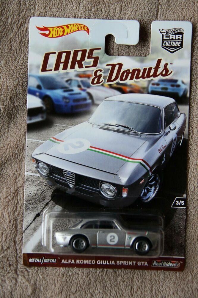 Hot Wheels Car Culture Cars And Donuts Alfa Romeo Giulia Sprint