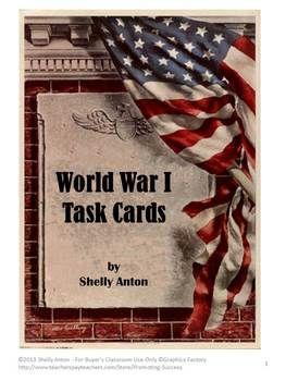 Best World War I Ideas On Pinterest Ww Timeline World War - Us history map activities world war 1
