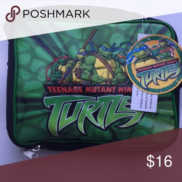 Teenage ninja turtles Lunch box with water bottle Bags Backpacks