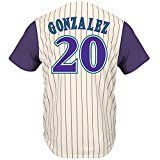 Luis Gonzalez Arizona Diamondbacks Cooperstown Jerseys