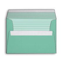 Monte Carlo Green Striped Envelope