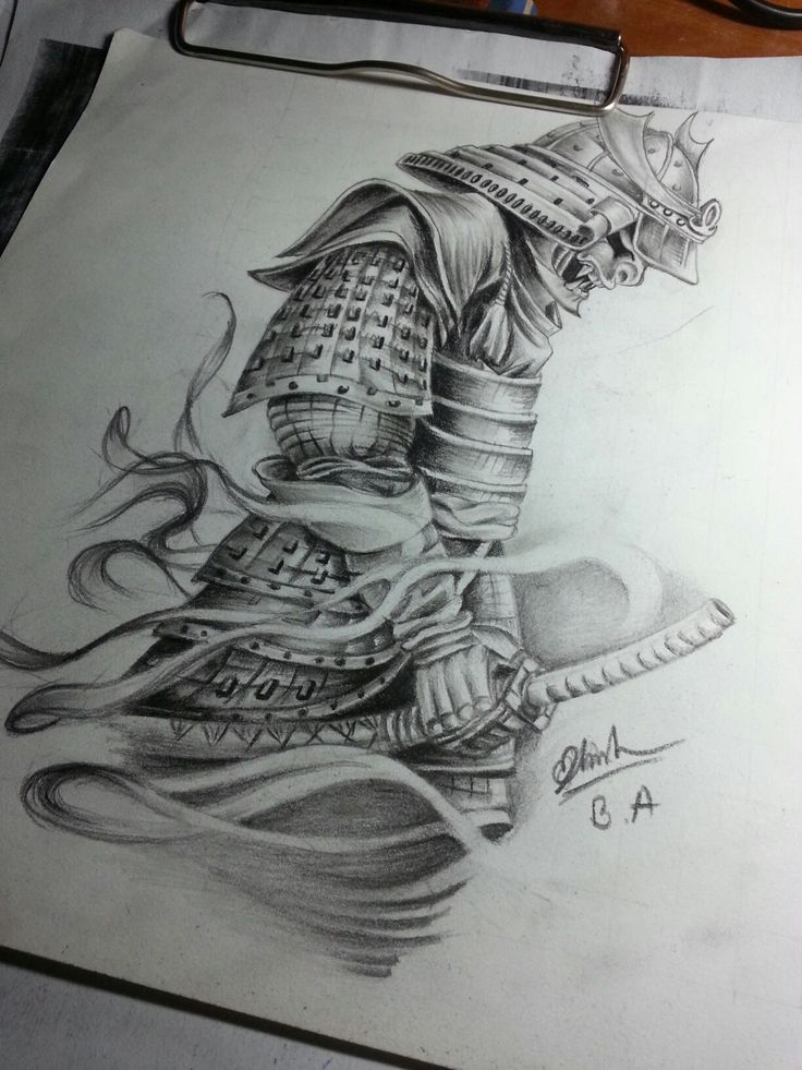 Samurai # art # for tattoo #by me