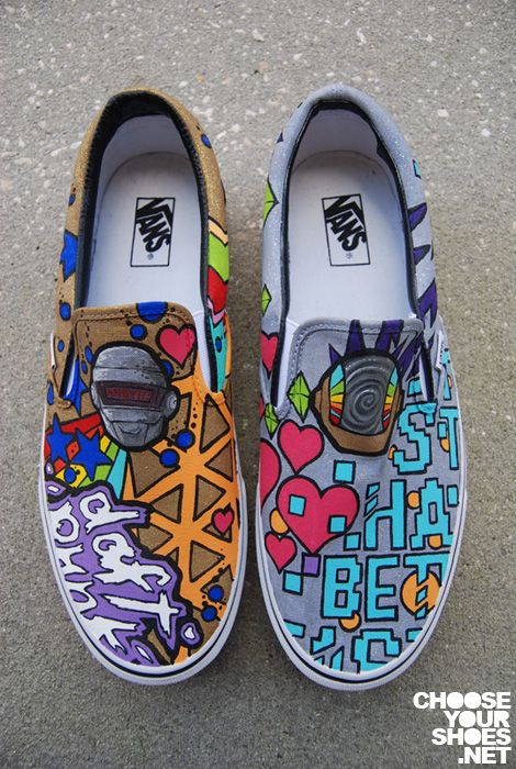 #DIY Shoes Paint: : Incredible Custom #Shoes Designs