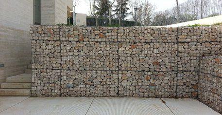 Mejores 27 im genes de muros de piedra en pinterest - Muros de gavion ...