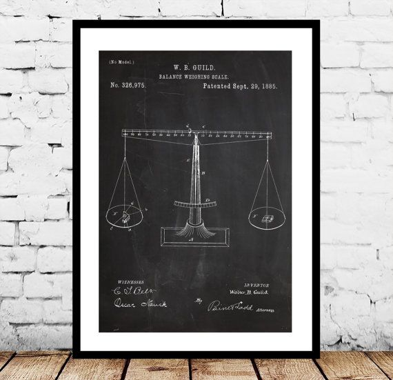 Scales of Justice Print, Scales of Justice Poster, Scales of Justice Patent, Scales of Justice Art, Lawyer Gift, Gifts for Lawyers by STANLEYprintHOUSE  1.00 USD  We use only top quality archival inks and heavyweight matte fine art papers and high end printers to produce a stunning quality print that's made to last.  Any of these posters will make a great affordable gift, or tie any room together.  Please choose between different sizes and col ..  https://www.etsy.com/ca/listing/24..