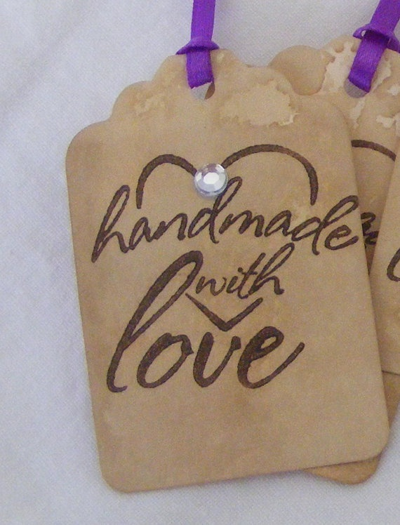 VIDA Leather Accent Tag - LoveTags by VIDA 1ptJrlUv