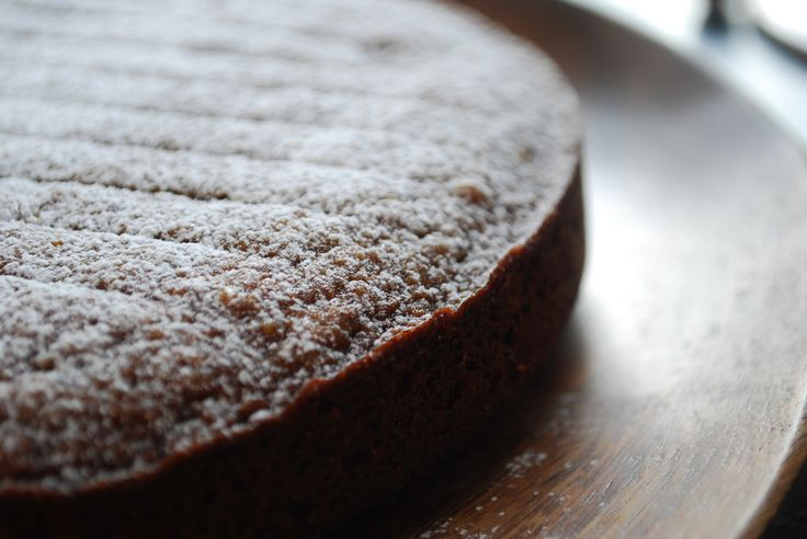 Banana Chestnut Cake - Sub the all purpose flour with more almond meal (or hazelnut meal) and the sugar with coconut sugar or sukrin gold