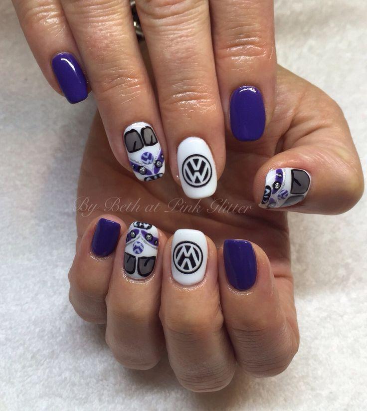 The 25 best hippie nail art ideas on pinterest hippie nails vw kombi van nails hippie nailshippie nail artvw prinsesfo Choice Image