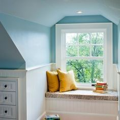 "Cape Cod Style | The House that A-M Built. Great potential for capturing unused ""attic space""  for built-in drawers, cupboards."