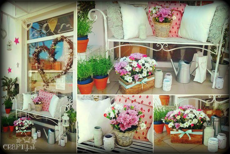 Urobili sme si malú záhradku :)