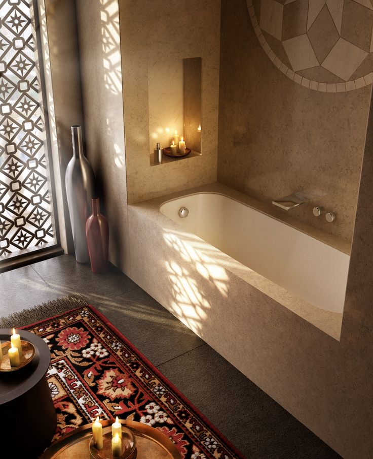 Bathtub Integrated In A Tile Able Block SIZES Cm 185x85, 175x80, 175x75; H