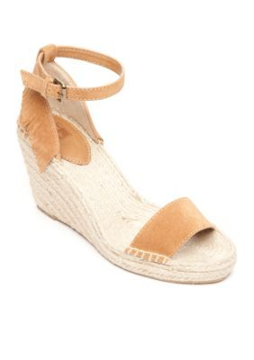Frye  Lila Feather Wedge Sandal