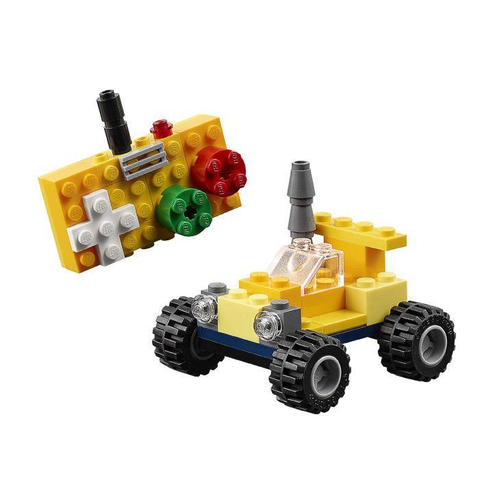 Lego Classic 10696 Medium Creative Brick Box Building Instruction Mini Rc Car Pdf 720 720 Pixels Lego Challenge Lego Toys Lego Projects